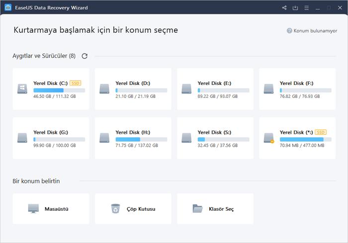 select the hard drive